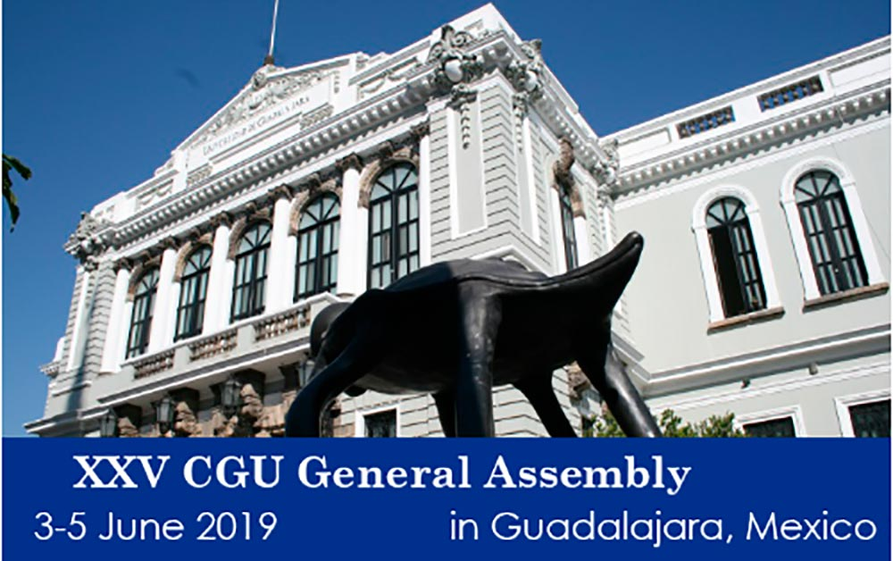 Register for the XXV General Assembly of the Compostela Group of Universities