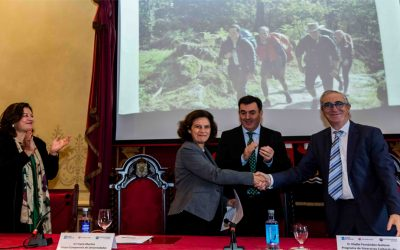The Compostela Group of Universities and the European Institute of Cultural Routes of the Council of Europe sign a cooperation agreement