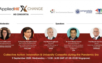 The CGU collaborates in the organisation of the AppliedHE Xchange Consortia webinar