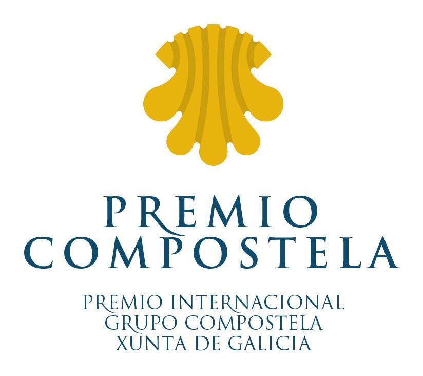 Logotipo del Premio Internacional Grupo Compostela-Xunta de Galicia cuadrado