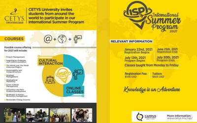 CETYS University assigns scholarships to CGU students to participate in its International Summer Programme 2021