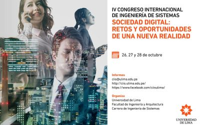 La Universidad de Lima organiza el Congreso internacional 'Sociedad digital: retos y oportunidades de una nueva realidad'