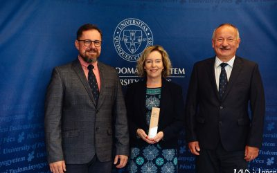 The University of Pécs wins the EAIE Award for Excellence in Internationalisation